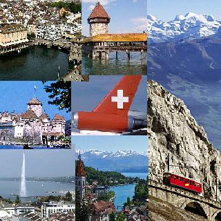 Suggested itinerary for the Switzerland Tour