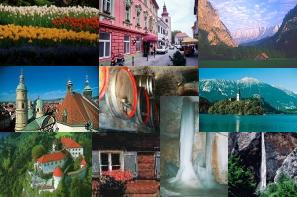 Suggested itinerary for the